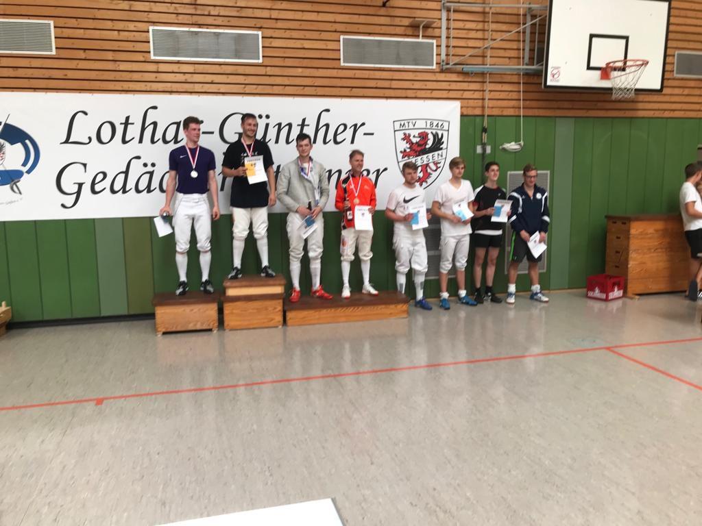 Dritter Platz in Giessen für Leo auf dem Lothar-Günther-Turnier 2019